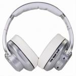 EVOLVEO SupremeSound 8EQ, Bluetooth sluchátka s reproduktorem a ekvalizérem 2v1, stříbrné, SD-8EQ-SL