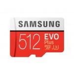 Micro SDXC 512GB Samsung EVO Plus + SD adaptér, MB-MC512HA/EU
