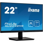 """22"""" iiyama XU2292HS-B1: IPS, FullHD@75Hz, 250cd/m2, 4ms, VGA, HDMI, DP, černý, XU2292HS-B1"""