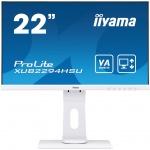 """22"""" iiyama XUB2294HSU-W1: VA, FullHD@75, 250cd/m2, 4ms, VGA, HDMI, DP, USB, height, pivot, bílý, XUB2294HSU-W1"""