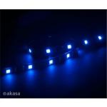 AKASA - LED páska-magnetická - modrá Vegas M, AK-LD05-50BL