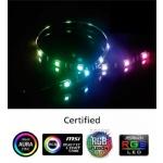AKASA - LED páska-magnetická - multicolor Vegas MB, AK-LD05-50RB
