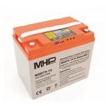 Carspa MHPower MSD75-12 Smart akumulátor VRLA-GEL 12V/75A, MSD75-12