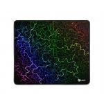 Herní podložka pod myš C-TECH ANTHEA ARC, barevná, pro gaming, 320x270x4mm, obšité okraje, GMP-01ARC