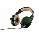 TRUST GXT 322C Carus Gaming Headset - jungle camo, 20865
