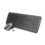 TRUST Tecla-2 Wireless Keyboard with mouse US, 23239