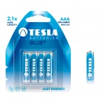 TESLA - baterie AAA BLUE+, 4ks, R03   Akce 2 + 1 ZDARMA, 1099137003