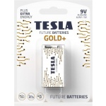 TESLA - bateries 9V GOLD+, 1ks, 6LR61, 1099137205