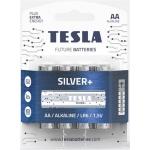 TESLA - baterie AA SILVER+, 4 ks, LR06, 1099137214