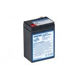 AVACOM náhradní baterie (olověný akumulátor) 6V 4,5Ah do vozítka Peg Pérego F1, PBPP-6V004,5-F1A