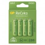 Gp Baterie GP nabíjecí baterie ReCyko 2500 AA (HR6) 4PP, 1032224250
