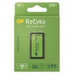 Gp Baterie GP nabíjecí baterie ReCyko 9V 1PP, 1032521020