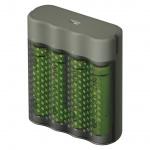 Gp Baterie GP nabíječka Speed M451 + 4× AA REC 2700, 1604845112