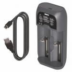 EMOS univerzální nabíječka li-ion baterií BCL-20D, 1603026000