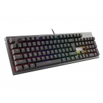 Mechanická klávesnice Genesis Thor 300 RGB, US layout, RGB podsvícení, software, Outemu Red, NKG-1595