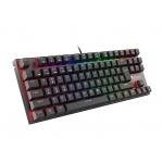 Mechanická klávesnice Genesis Thor 300 TKL RGB, US layout, RGB podsvícení, software, Outemu Red, NKG-1597