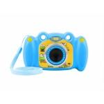 """Natec Digitální fotoaparát pro děti Ugo Froggy, modrý, 1,3mpx, video Full HD 1080px, 2"""" LCD displej, UKC-1555"""