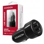 AXAGON PWC-5V5, SMART nabíječka do auta, 2x port 5V-2.4A + 2.4A, 24W, PWC-5V5 - neoriginální