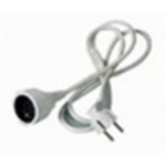 Premiumcord Prodlužovací přívod 230V, 2m, zásuvka-zástrčka, PPE1-02