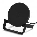 BELKIN 10W Qi nabíjecí stojan s microUSB kabelem a adaptérem, černý, WIB001vfBK - neoriginální