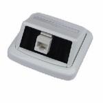 Jednozásuvka ABB TANGO 1xRJ45 cat6 UTP bílá, 5027100829