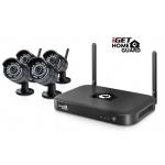 iGET HGNVK88304 - CCTV bezdrátový WiFi set FullHD 1080p, 8CH NVR + 4x IP kamera 1080p, i RJ45, HGNVK88304