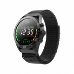 Chytré hodinky Forever Icon AW-100 AMOLED černé, SMAWAAW100FOBK