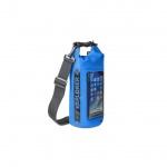 Voděodolný vak CELLY Explorer 2L, modrý, EXPLORER2LBL