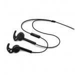 Sportovní sluchátka s mik. FIXED EGG3, IPX3, černá, FIXM-EGG3-BK