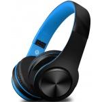 Bezdrátová sluchátka S5, černo/modré, 8588006962772