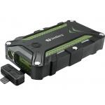Sandberg přenosný zdroj USB 15600 mAh, Survivor Outdoor, pro chytré telefony, černozelený, 420-39