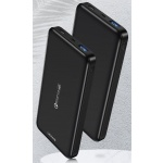 USAMS US-CD92 QC3.0 Power Bank 10000mAh Black, 6958444968322