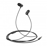 USAMS EP-36 In-Ear Steel Stereo Headset 3,5mm Black, 6958444970790