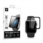 Mocolo 3D Tvrzené Sklo Black pro Apple iWatch 1,2,3,4 40mm, 8596311087363