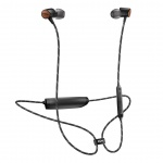 MARLEY Uplift 2 Wireless BT - Signature Black, bezdrátová sluchátka do uší s ovladačem a mikrofonem, EM-JE103-SB