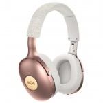 MARLEY Positive Vibration XL Bluetooth® 5.0 - Copper, sluchátka přes hlavu s ovladačem a mikrofonem, EM-JH141-CP