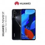 Huawei Nova 5T Dual Sim, Black, SP-N5T128DSBOM