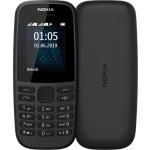 Nokia 105 Dual Sim 2019 Black, 16KIGB01A04