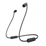 SONY sluchátka WI-C310 bezdr.,černá, WIC310B.CE7