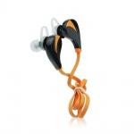 Sluchátka Bluetooth Sport RQ5 Music stereo Bass oranžová