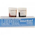 Lepox Metal Hobby dvousložkový epoxidový tmel + tvrdidlo, 2 kg + 1 kg