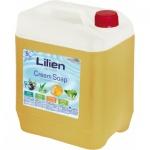 Lilien Honey & Propolis tekuté mýdlo, 5 l