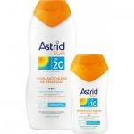 Astrid Sun hydratační mléka na opalování OF 20, 200 ml + OF 10, 80 ml