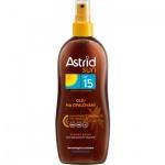 Astrid Sun OF15 olej na opalování ve spreji, 200 ml