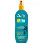 Astrid Sun Wet Skin OF 30 transparentní sprej na opalování, 150 ml