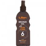 Lilien Sun Active OF 6 olej na opalování, 200 ml