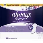 Always Discreet Normal inkontinenční slipové vložky, 68 ks