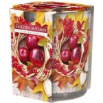 Aura Golden Autumn vonná svíčka, 100 g