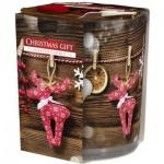 Aura Christmas gift vonná svíčka, 100 g