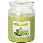Aura Maxi Zelený čaj vonná svíčka, 500 g